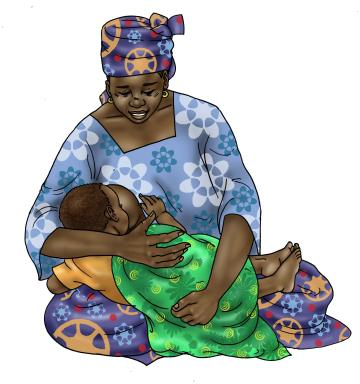 Breastfeeding - Breastfeeding positions 0-24 mo - 05 - Niger
