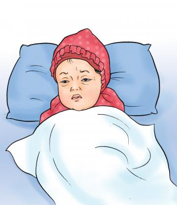 Sick Child Health - Sick child before visit to health facility - 01 - Nepal