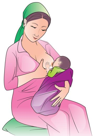 Sick Child Health - Breastfeeding a sick child 0-24mo - 03 - Kyrgyz Republic