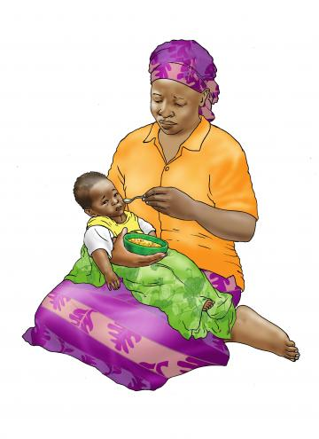Sick Baby Nutrition - Complementary feeding sick baby - 04 - Non-country specific