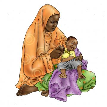 Sick Baby Nutrition - Sick baby refuses to breastfeed - 01 - Niger