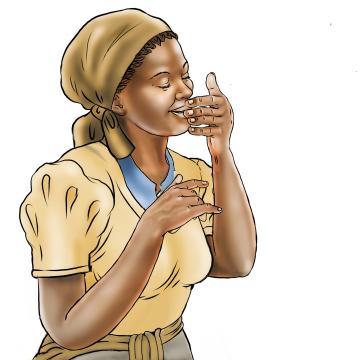 Hygiene - Smelling clean hands - 15 - Sierra Leone
