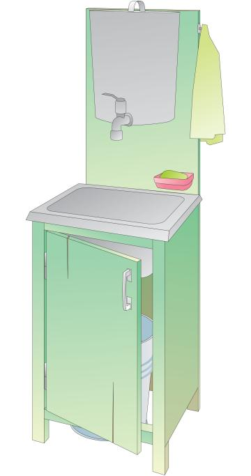 Hygiene - Handwashing station  - 00B - Kyrgyz Republic