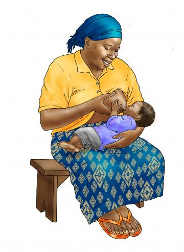 Breastfeeding - Breastfeeding 6mo 0-6 mo - 02 - Nigeria