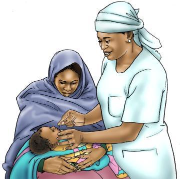 Baby Health Care - Vitamin A drops 0-24 mo - 00C - Niger
