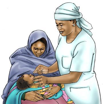 Baby Health Care - Vitamin A drops 0-24 mo - 00D - Nigeria