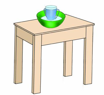 Hygiene - Cup feeding table - 00 - Nigeria