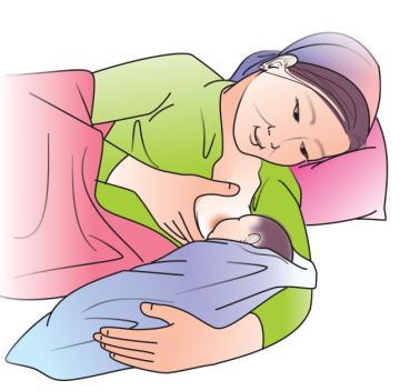 Breastfeeding - Breastfeeding positions - Side Lying 0-24mo - 04 - Kyrgyz Republic