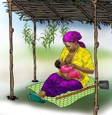 Breastfeeding - Breastfeeding during work 6-9 mo - 02A - Nigeria