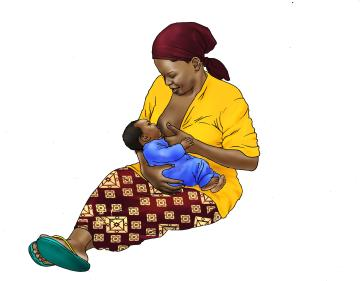Breastfeeding - Breastfeeding 6-9 mo - 02B - Nigeria