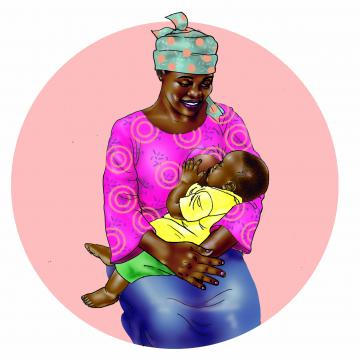 Breastfeeding - Exclusive breastfeeding 6-9 mo - 00B - Benin