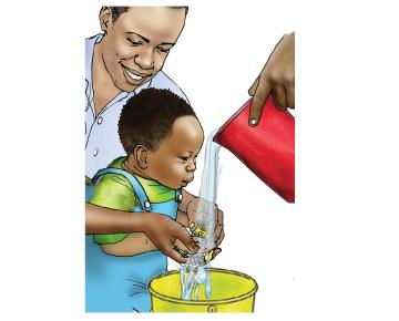 Hygiene - Washing the baby's hands 0-24 mo - 02B - Non-country specific