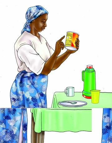 HIV - Preparing infant formula 0-24 mo - 01 - Tanzania