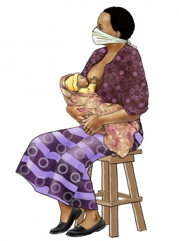 Counseling - Breastfeeding counseling - mother - 03 - COVID