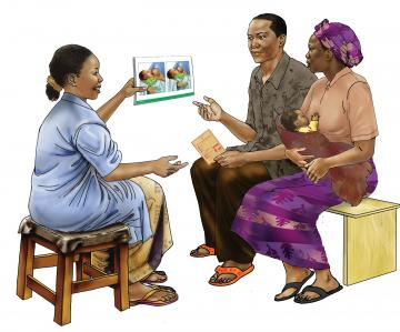 Counseling - Breastfeeding counseling 0-6mo - 01A - Rwanda