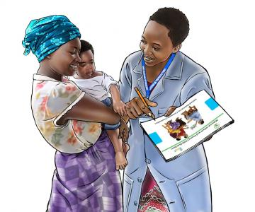 Counseling - Breastfeeding counseling - 02 - Rwanda