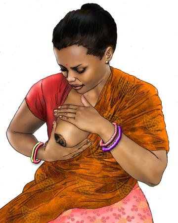 Cup feeding - Expressing breastmilk - 01D - India