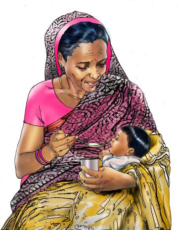 Cup feeding - Storing breastmilk - 03 - India