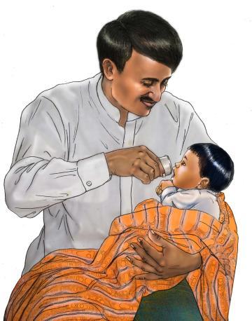 Cup feeding - Cup feeding - 04 - India