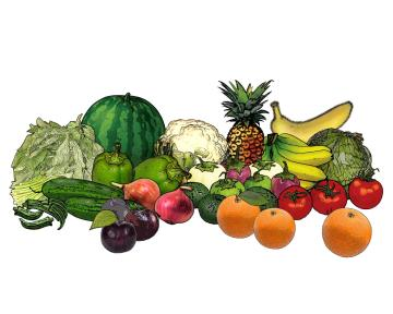 Food - Fruits and Vegetables - 00U - Non-country specific