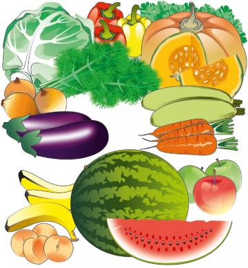 Food - Fruits and Vegetables  - 00S - Kyrgyz Republic