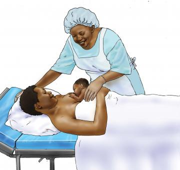 Breastfeeding - Early initiation of breastfeeding 0-24 mo - 01 - Nigeria