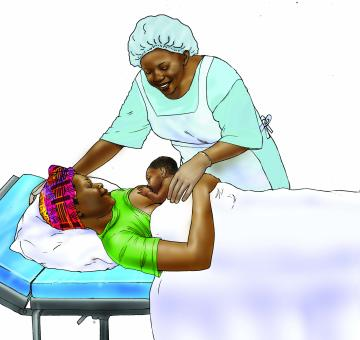 Breastfeeding - Early initiation of breastfeeding 0-24 mo - 01F - Nigeria