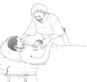 Breastfeeding - Early initiation of breastfeeding 0-6 mo - 01B - Non-country specific
