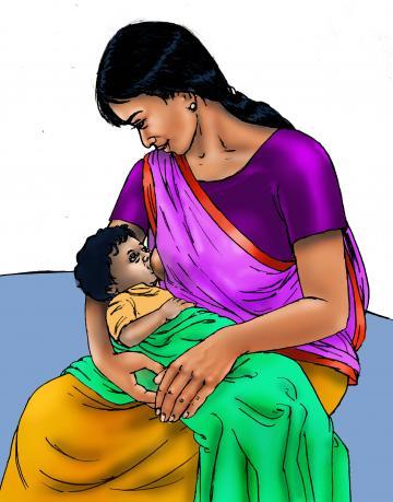 Breastfeeding - Exclusive breastfeeding 6-24 mo - 00 - India