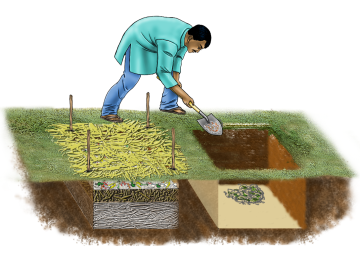 Agriculture - Pit Composting - 09 - India