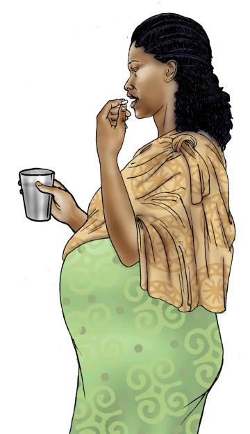 Maternal Health - Mother taking medicine - ARVs - 02 C - Ethiopia