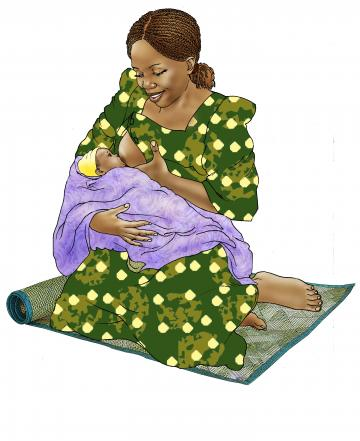 Breastfeeding - Exclusive breastfeeding 0-6 mo - 00C - Non-country specific