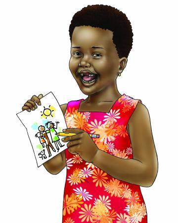 People - Young girl - 00 - Nigeria