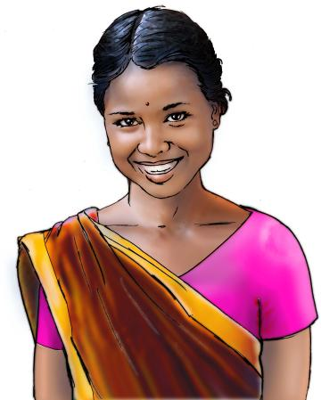 People - Adolescent woman - 00 - India