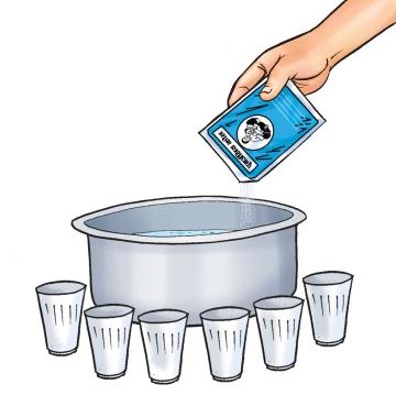 Food - Oral rehydration therapy - 01 - Nepal