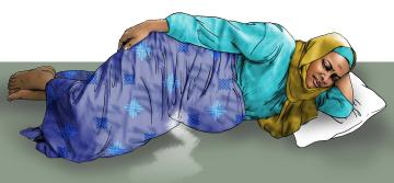 Maternal health - When to visit the health clinic - pregnancy - 01 - Kenya Dadaab