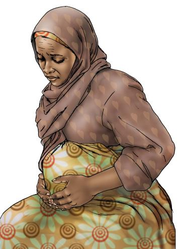 Maternal health - When to visit the health clinic - pregnancy - 09 - Kenya Dadaab