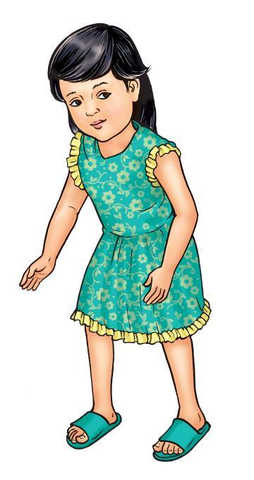 People - Healthy toddler girl - 01B - Nepal