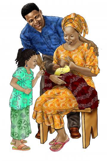 Family - Family Support for Breastfeeding 0-24 mo - 00B - Senegal