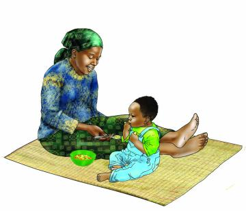 Complementary Feeding - Complementary feeding 9-12 months 9-12 mo - 06 - Nigeria